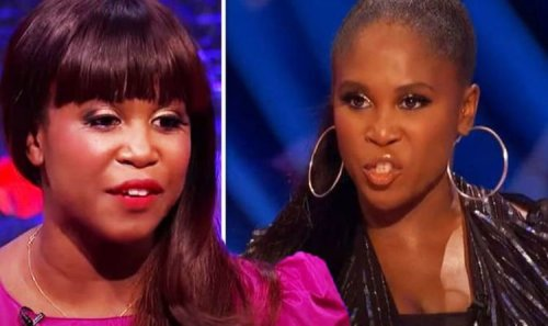 'What world for my child?' Strictly's Motsi Mabuse fumes after being told to 'keep quiet'