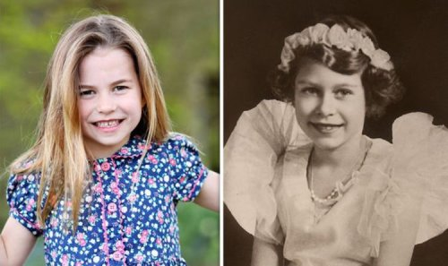 Princess Charlotte and Queen's 'striking similarities' in incredible pictures