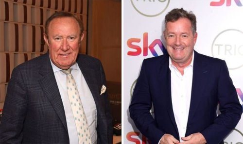 'That's why Piers Morgan isn't here!' Andrew Neil details why star won't appear on GB News
