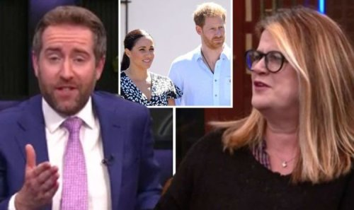 'Go away!' GB News' Darren McCaffrey slams co-host for more Meghan and Harry coverage