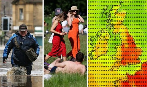 UK hot weather forecast: Britons to bask in late summer 22C blast before horror floods