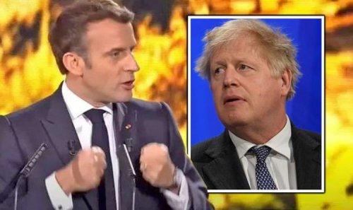 Macron attacks UK's 'defeatist spirit' insisting EU did 'not miss the boat' in pandemic