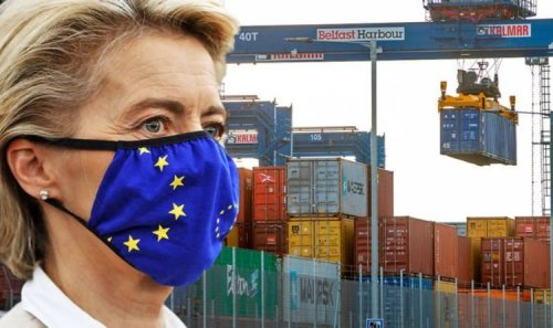 Boycott EU goods NOW! Britons urged to shun exports in face of Brexit 'annexation' threat
