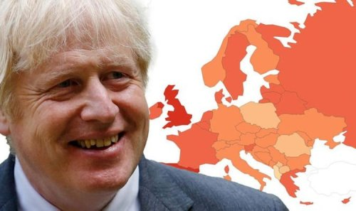 Covid map: UK now has highest infection rate in Europe amid third wave