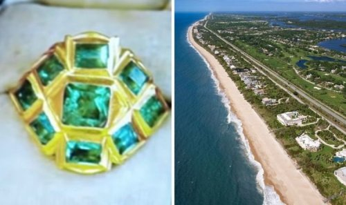 Inca breakthrough after 'greatest treasure ring ever found in America' uncovered on beach