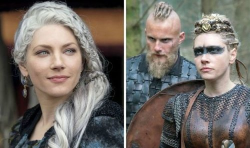 Vikings: Alexander Ludwig shows support for co-star Katheryn Winnick's new film project