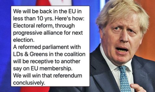 'Rejoin will win next referendum!' Grayling outlines plot to force UK back into EU by 2030
