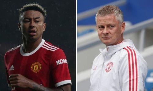 Man Utd suffer potential transfer setback as Jesse Lingard reaches Solskjaer decision
