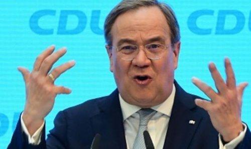 What a nightmare! CDU leader Laschet admits 'I'm Macron-Merkel mix' as he pledges MORE EU