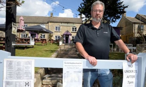 Fed up landlord bans young drinkers from country pub after 'vile behaviour'