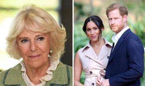 Camilla 'secretly revelled' in Megxit drama before Meghan and Harry escalated claims