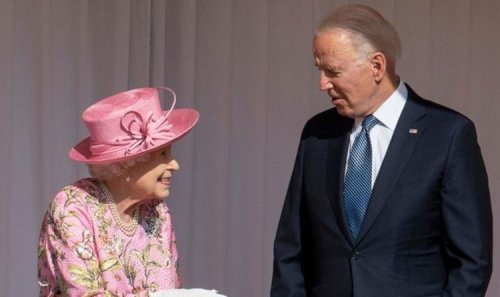 Not again! Joe Biden 'breaches royal protocol' by disclosing private chat with Queen