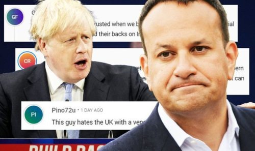 'We bailed out Ireland!' Varadkar Brexit rant unravels after claim UK 'doesn't keep word'
