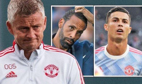 Man Utd boss Solskjaer hits back at Rio Ferdinand over Cristiano Ronaldo actions