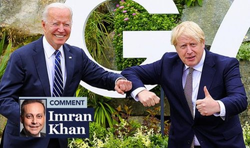 A deal with Biden will show up EU's pettiness, says IMRAM AHMAD KHAN