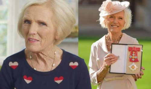 Mary Berry to 'celebrate with a sandwich' after Prince Charles makes her Dame Commander