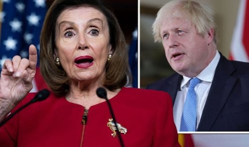 'Keep your nose out of it!' Britons rage as Nancy Pelosi issues US deal ultimatum