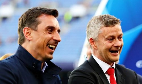 Gary Neville responds to Man Utd fans commenting 'Ole out' after defence of manager