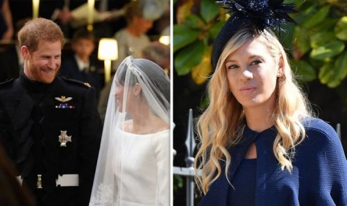 Prince Harry's 'tearful' phone call with Chelsy Davy the day before his wedding to Meghan