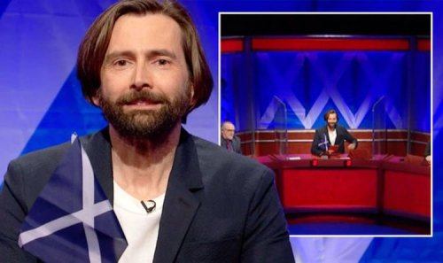 David Tennant wades into Beeb flag row as he unveils Saltire 'Might get BBC in trouble!'