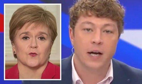 SNP's 'virtue signalling' slammed as GB News' Patrick Christys humiliates Sturgeon record