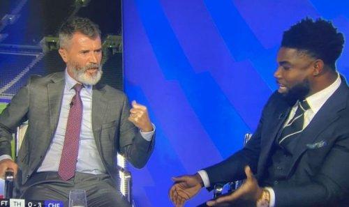 Roy Keane and Micah Richards clash over Tottenham striker Harry Kane 'playing for Chelsea'