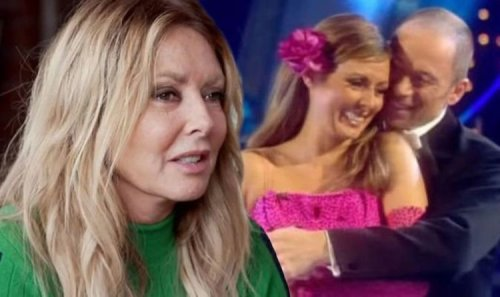 Carol Vorderman was left with 'egg-shaped' injury after 'fracturing a rib' on Strictly