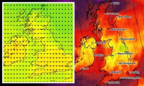 UK long range forecast: Sizzling 24C European plume heading for Britain - new weather maps
