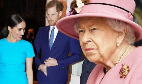 Queen 'fires warning shot' at Harry and Meghan - Sussexes 'rattled' after latest outburst