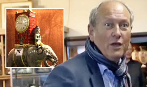 Antiques Road Trip: Damaged elephant bought for £8 makes history with auction sale