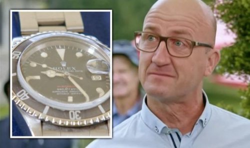 Antiques Roadshow guest in tears as late father's rare Rolex receives whopping valuation