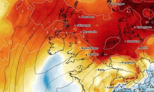 UK hot weather forecast: Chart turns RED as 19C heat to sizzle nation - as lockdown eases