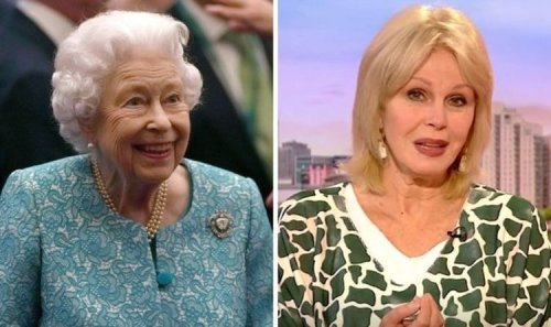 Joanna Lumley opens up on awkward encounter with Queen 'Why are you here?'