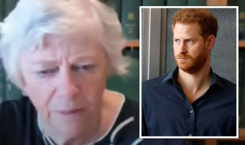 'What a joke!' Prince Harry contradiction mocked by Ann Widdecombe during brutal rant