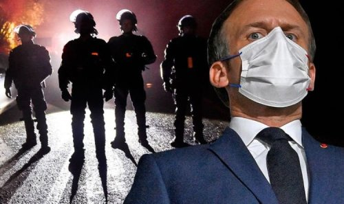 Macron accused of turning France into a dystopian police state with new Covid measures