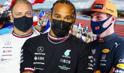 French Grand Prix qualifying results RECAP: Max Verstappen beats Lewis Hamilton to pole