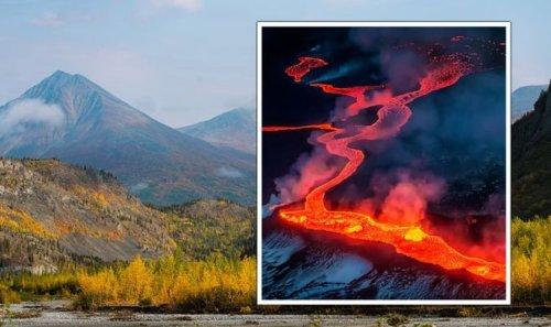 Alaska volcano sparks RED alert as 'major eruption' underway - 'explosions' spotted