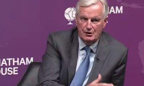 Michel Barnier speech LIVE: Frenchman to launch bitter Brexit attack as he eyes Presidency