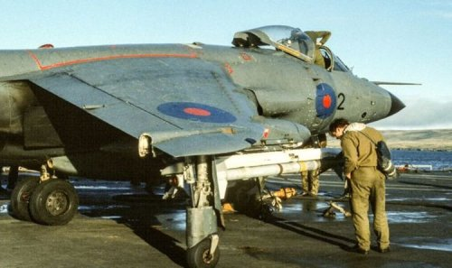 British soldier returns remains of plane shot down in Falklands to Argentina