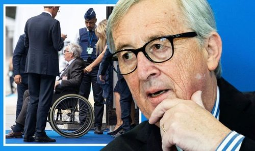 Not even tipsy! Jean-Claude Juncker claims he has NEVER been drunk in his life