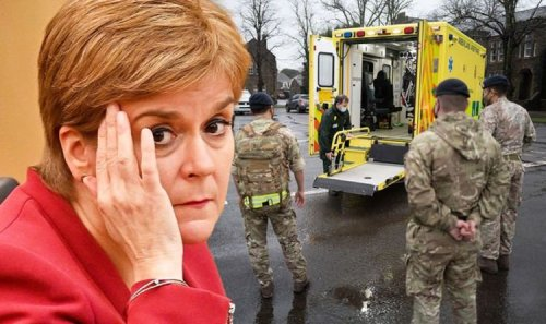 Humiliated Sturgeon forced to beg British Army to help bail out Scottish ambulance crisis