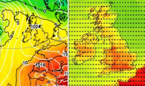 UK hot weather forecast: Sizzling 23C heat to scorch Britain in 3-day blast - new charts