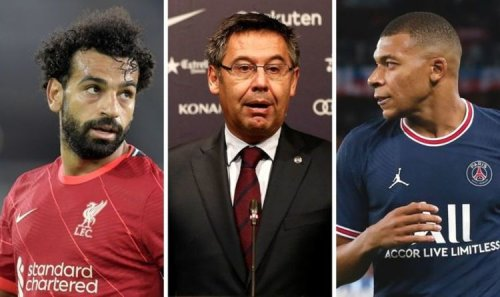 Barcelona 'rejected Liverpool star Mo Salah and Kylian Mbappe' to land three-goal flop