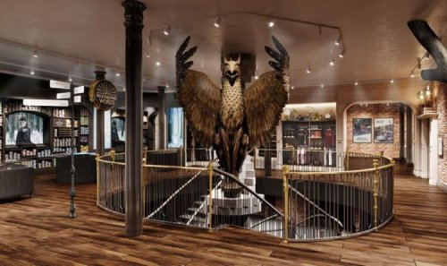 Harry Potter studio experience expands with exciting new location with custom merchandise