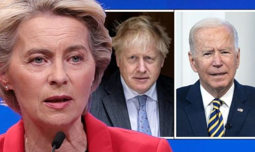 Oh dear, Brussels! UK's new deal with US and Australia is 'disaster' for EU – expert