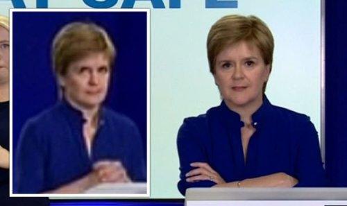 Nicola Sturgeon loses it with reporter over Scotland's missed vaccine target - VIDEO