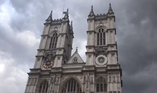 Westminster Abbey begins Prince Philip tribute as bells to toll for almost 2 hours – video