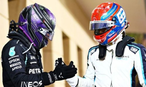 Lewis Hamilton's warning for George Russell as Brit admits he expects new team-mate to win