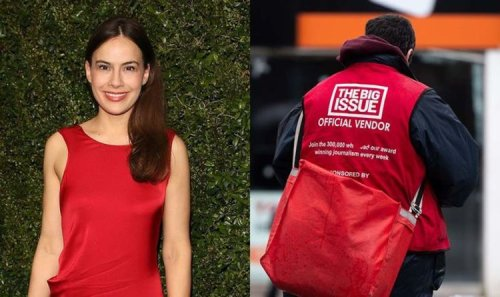 Actress and The Big Issue ambassador Sophie Winkleman calls for action to help homeless