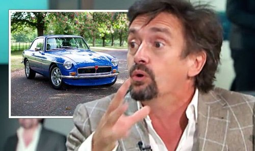 'Do it now! Going up in value massively!' Richard Hammond on his classic car business
